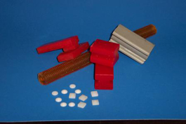 Molded Urethane and Rubber parts